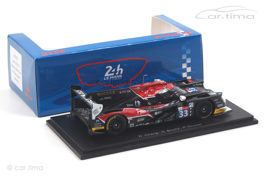 Ligier JS P217-Gibson 24h Le Mans 2018 Boulle/Cheng/Nicolet Spark 1:43 S7018