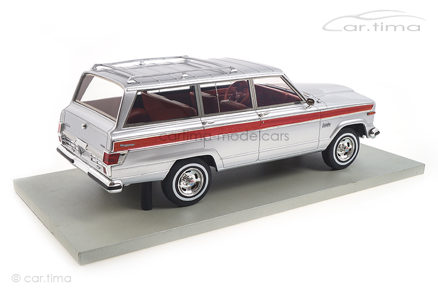 Jeep Grand Wagoneer silber LS Collectibles 1:18 LS037G