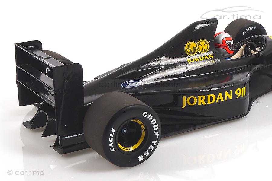 Jordan Ford F1 Test Silverstone 1990 John Watson Minichamps 1:18 110910099