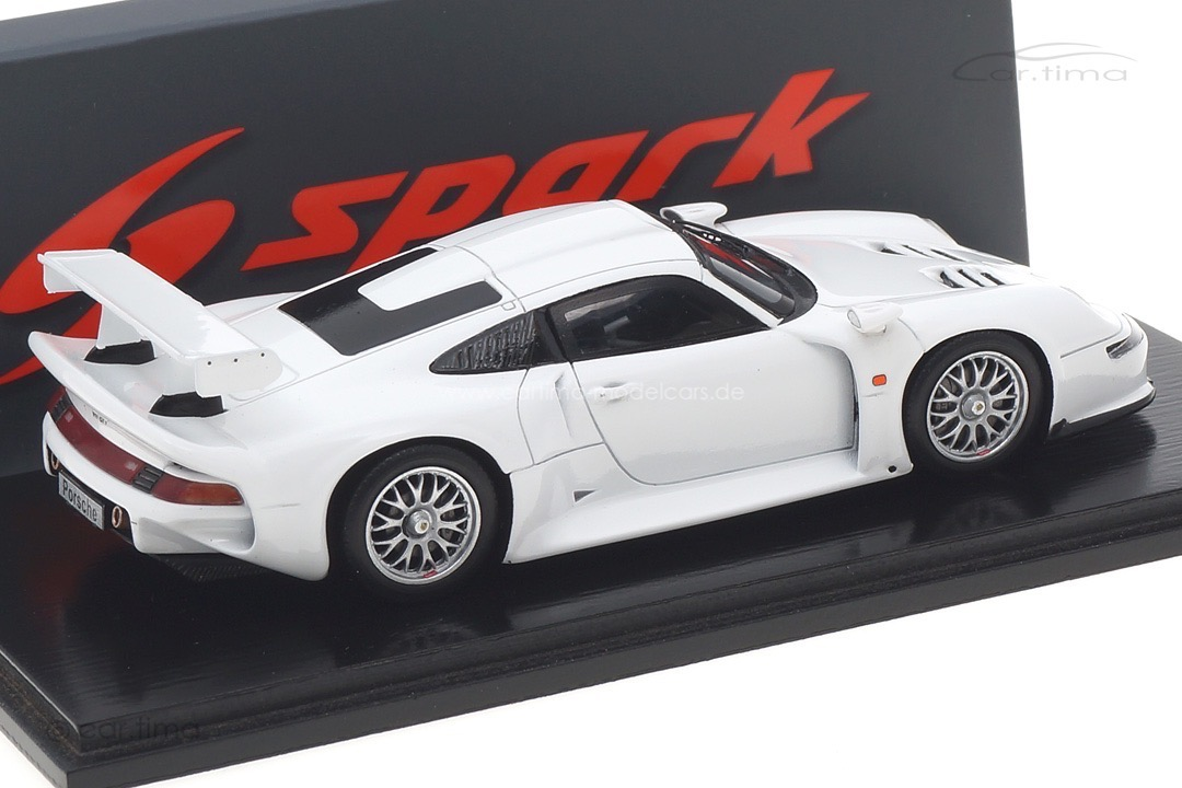 Porsche 911 GT1 Straßenversion weiß Spark 1:43 S5999