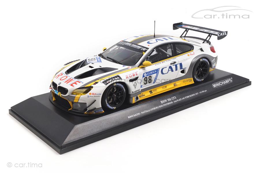 BMW M6 GT3 2nd place 24h Nürburgring 2017 Palttala/Catsburg Minichamps 1:18 155172698