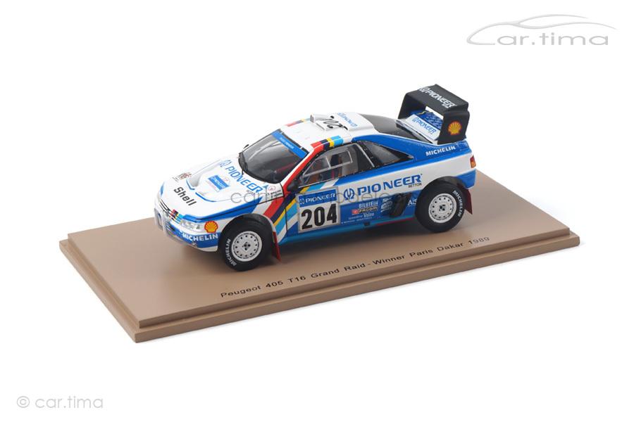 Peugeot 405 T16 Winner Rallye Paris-Dakar 1989 Vatanen/Berglund Spark 1:43 S5616