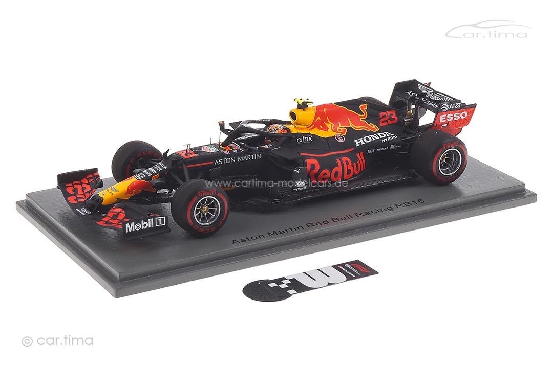 Aston Martin Red Bull Racing RB16 GP Tuscan 2020 Alexander Albon Spark 1:43 S6483