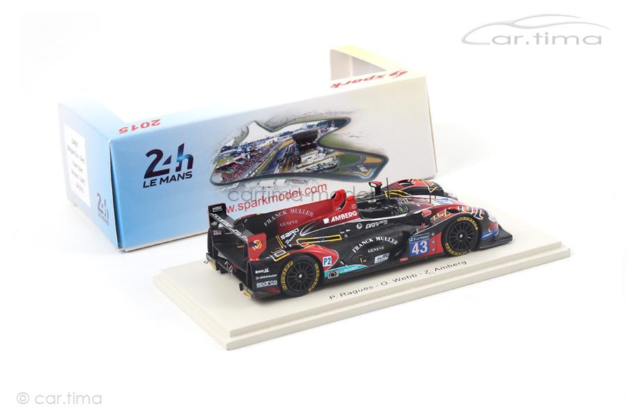 Morgan Evo 24h Le Mans 2015 Amberg/Ragues/Webb Spark 1:43 S4657