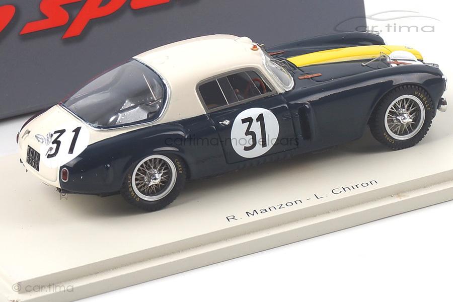 Lancia D20 24h Le Mans 1953 Chiron/Manzon Spark 1:43 S4722