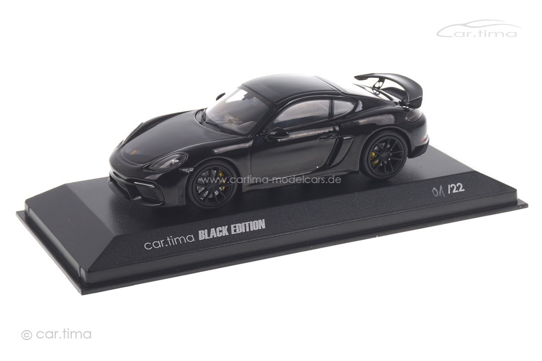 Porsche 718 Cayman GT4 car.tima BLACK EDITION Minichamps car.tima CUSTOMIZED 1:43