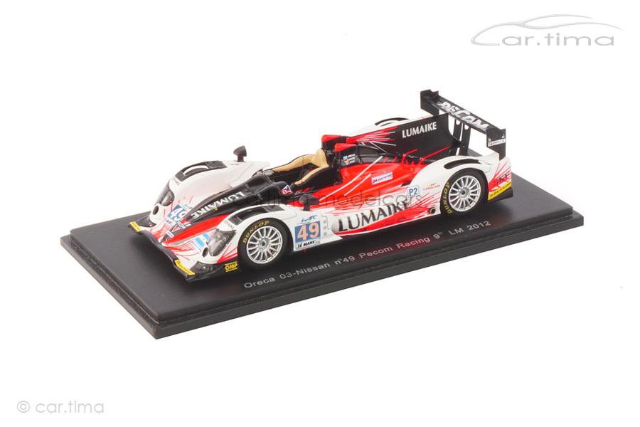 Oreca 03-Nissan 24h Le Mans 2012 Ayari/Kaffer/Perez-Companc Spark 1:43 S3727