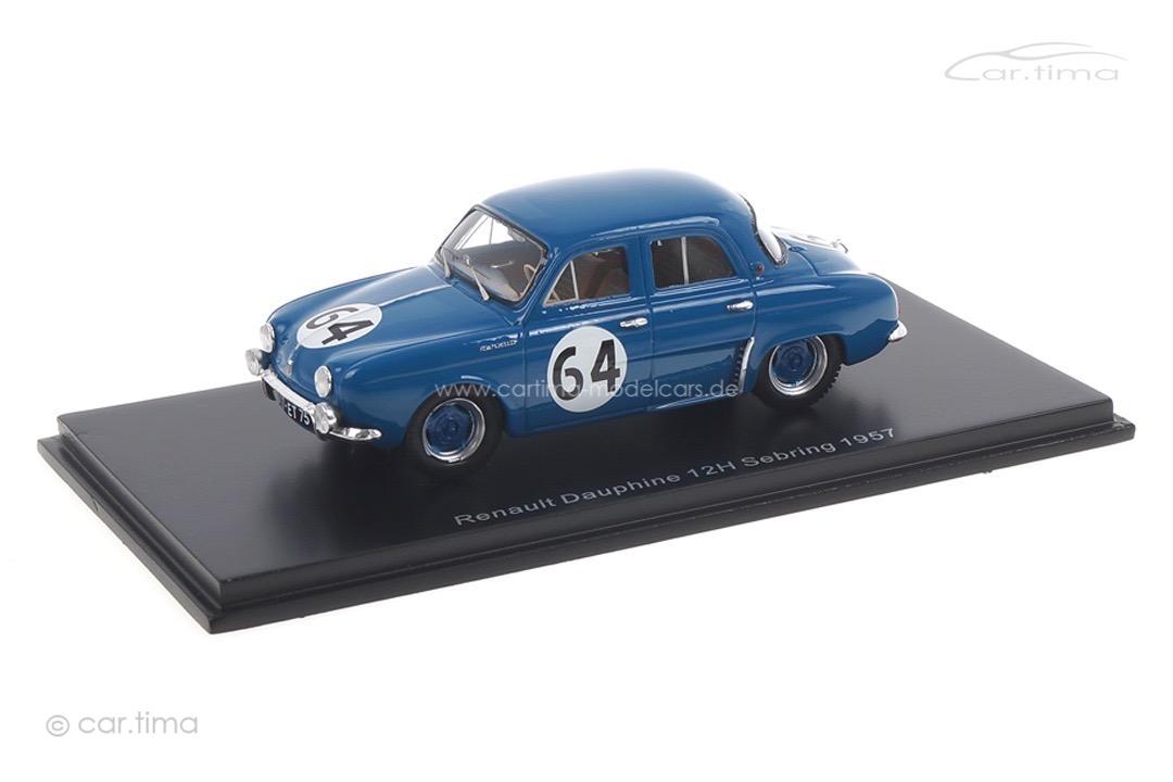 Renault Dauphine 12h Sebring 1957 Michy/Foulgoc Spark 1:43 S5218