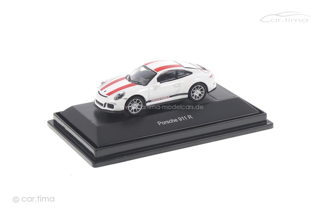 Porsche 911 R Weiß/rot Schuco 1:87 452629900