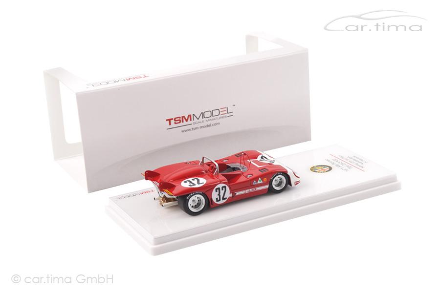 Alfa Romeo Tipo 33/3 12h Sebring 1971 Henri Pescarolo TSM 1:43 TSM144310