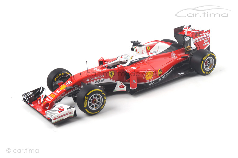 Ferrari SF16-H GP Australia 2016 Sebastian Vettel BBR 1:18 BBR181605