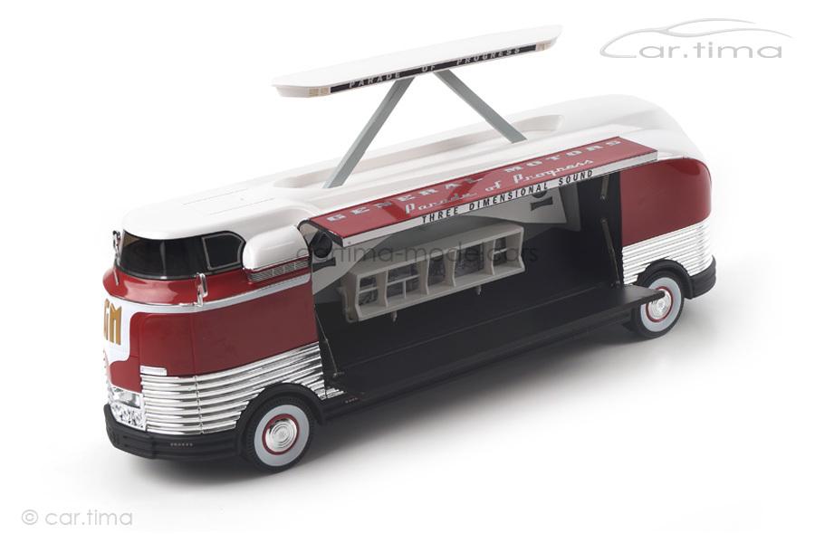 GM Futurliner Three Dimensional Sound 1954 TSM 1:43 TSM154327