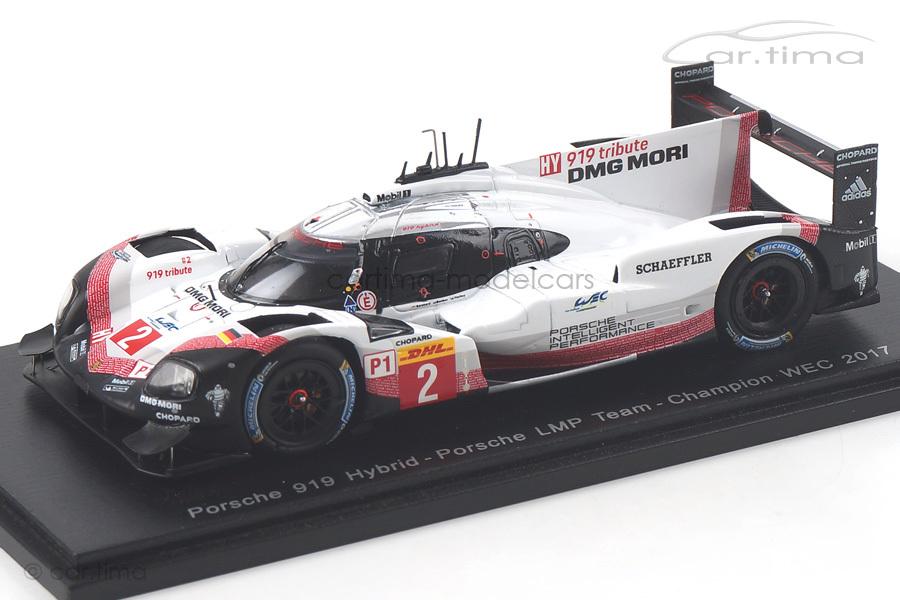 Porsche 919 Hybrid Champion WEC 2017 Bernhard/Bamber/Hartley Spark 1:43 S5845
