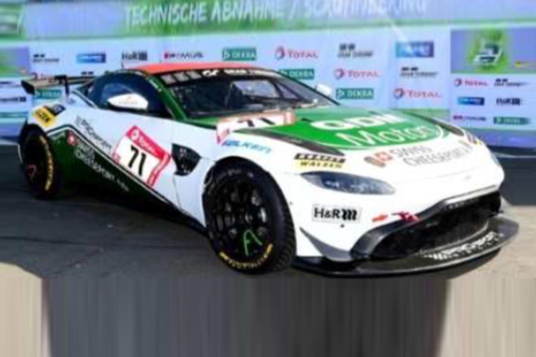Aston Martin Vantage AMR GT4 24h Nürburgring 2020 Dumarey/Hess/Walker Spark 1:43 SG702