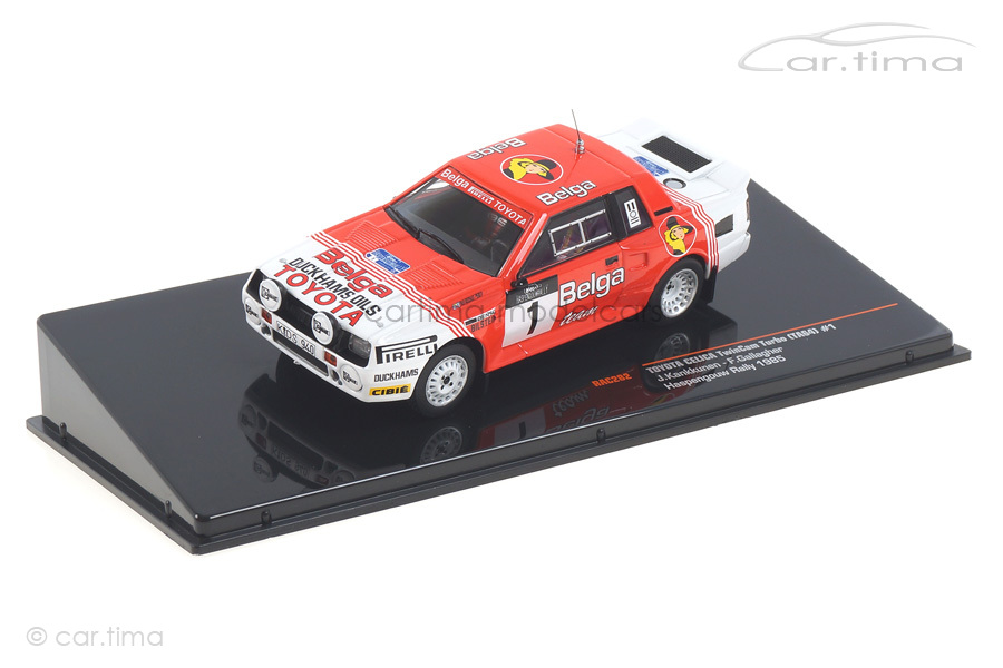 Toyota Celica Turbo Rallye Haspengouw Kankkunen/Gallagher IXO 1:43 RAC282
