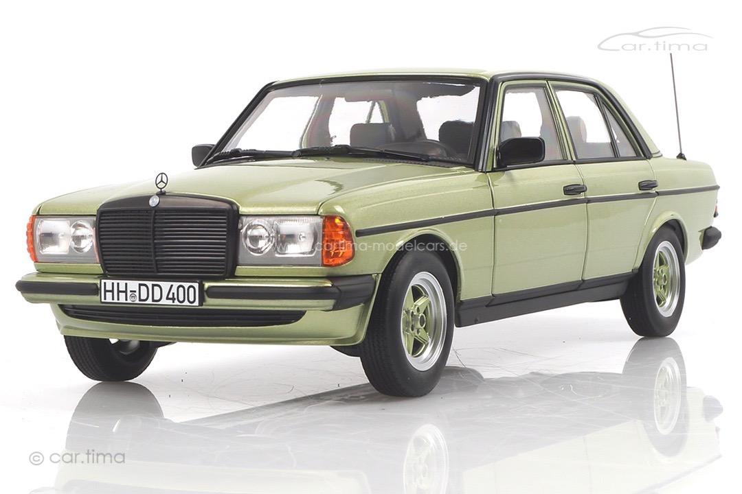 Mercedes-Benz 200 AMG W123 Silbergrünmet. Norev 1:18 183795