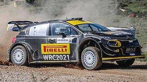 Citroen C3 Rally Sardegna 2020 Solberg/Mikkelsen Spark 1:43 S6574