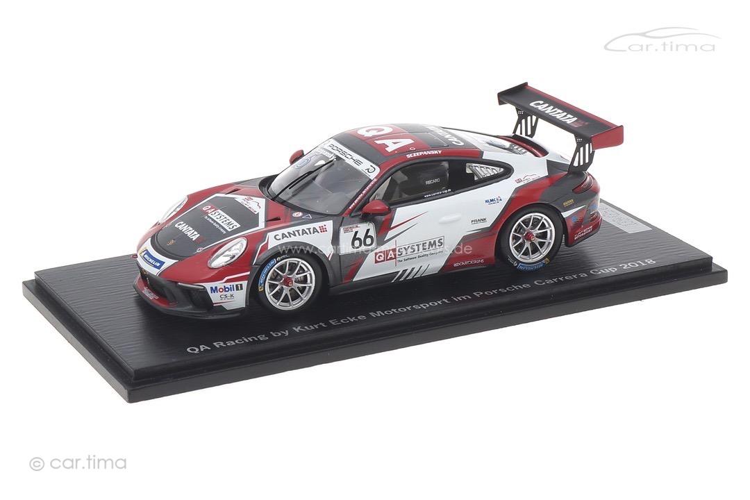 Porsche 911 (991) GT3 Cup Carrera Cup 2018 Ecke Motorsport Spark 1:43 ECKE2018