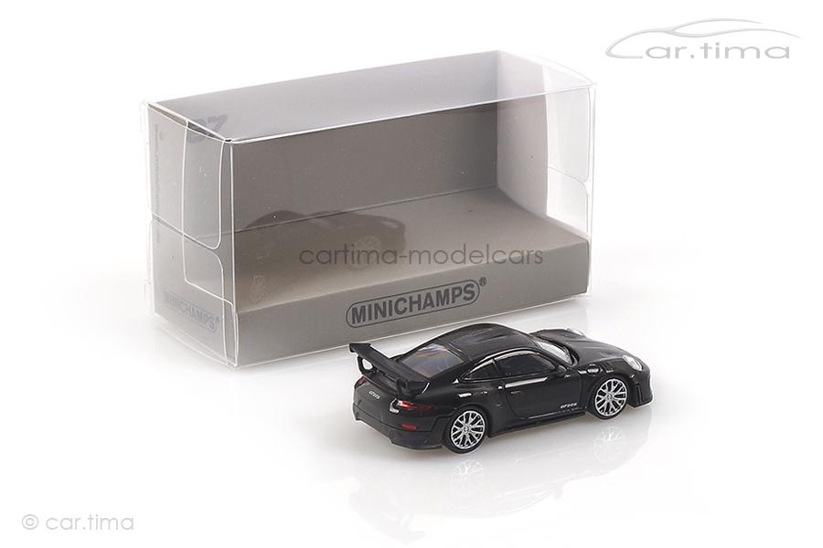 Porsche 911 (991 II) GT2 RS Weissach Paket Schwarz Minichamps 1:87 870068120