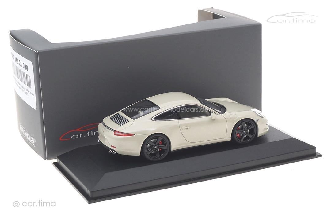 Porsche 911 50th Anniversary Geysirgraumet./Rad schwarz Minichamps car.tima CUSTOMIZED