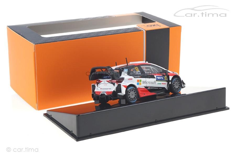 Toyota Yaris WRC Rallye Finnland 2017 Lappi/Ferm IXO 1:43 RAM656