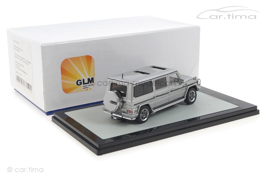 Mercedes Benz G-Klasse AMG G63 lang 2002 silber GLM 1:43 GLM43203702