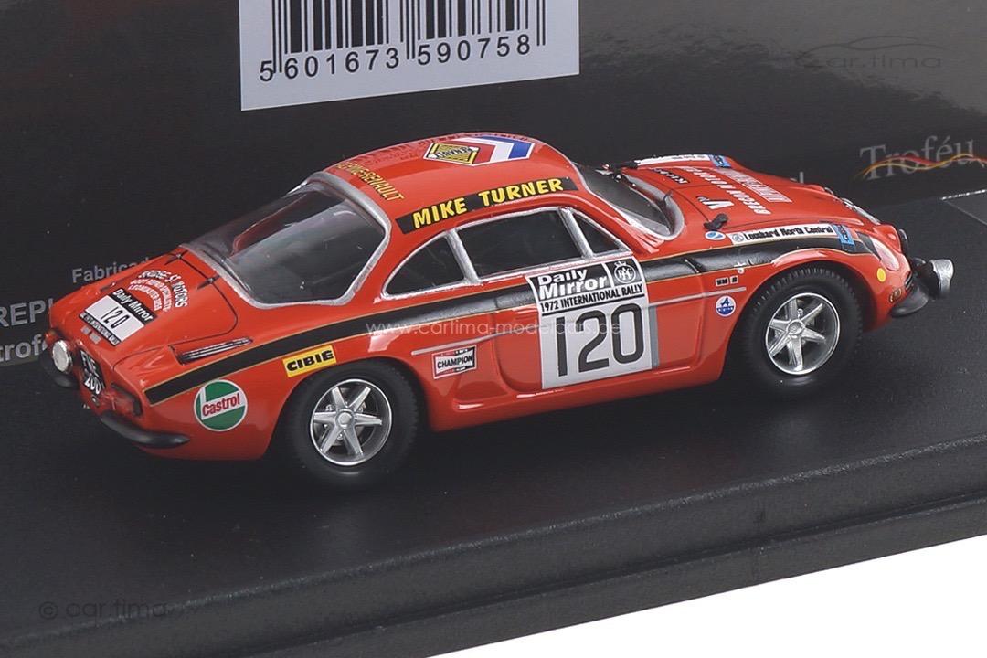 Alpine-Renault A110 RAC Rally 1972 Price/Poole Trofeu 1:43 RRUK55