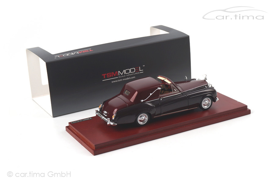 Rolls-Royce Silver Cloud I James Young Sedanca Coupe 1958 TSM 1:43 TSM134353