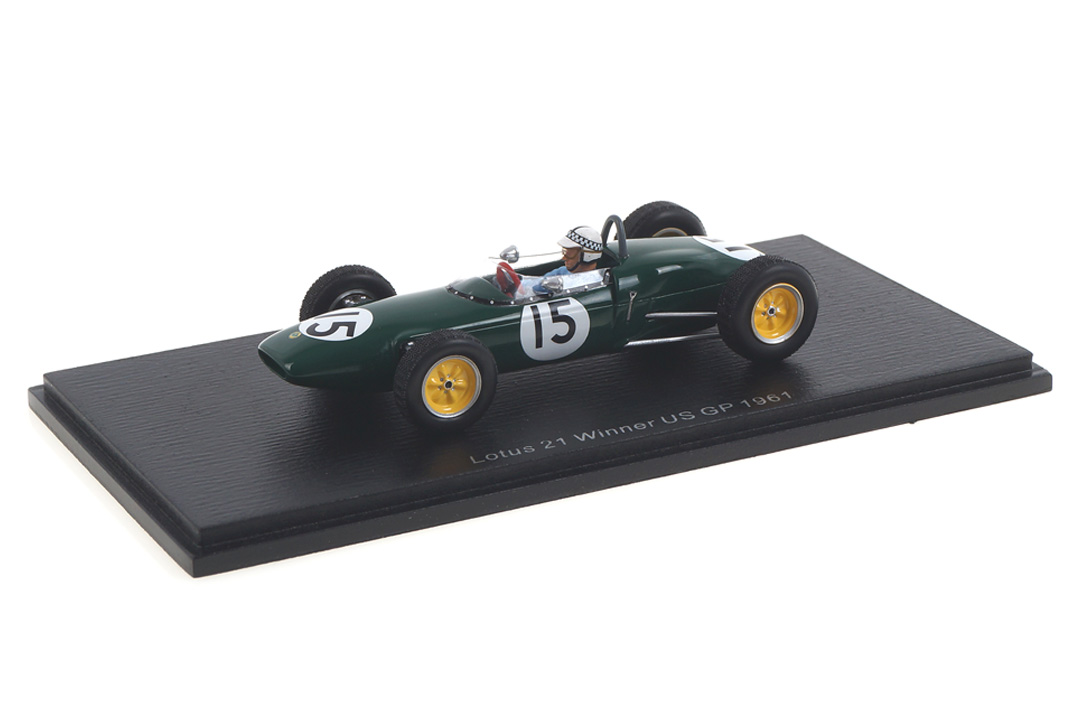 Lotus 21 Winner US GP 1961 Innes Ireland Spark 1:43 S7136
