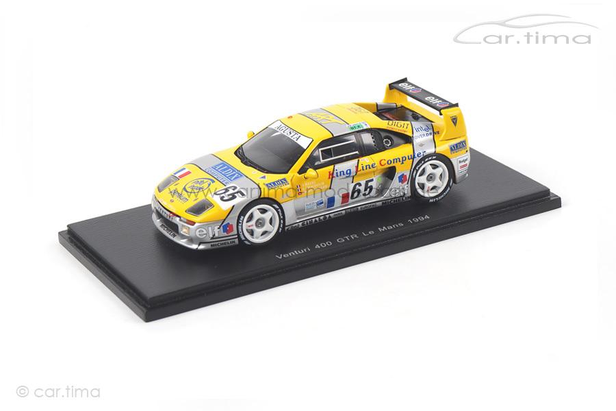 Venturi 400 GTR 24h Le Mans 1994 Chaufour/Hunkeler/Ratel Spark 1:43 S2280