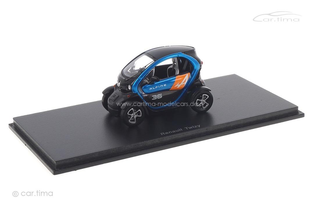 Renault Twizy Alpine blau Spark 1:43 SF075