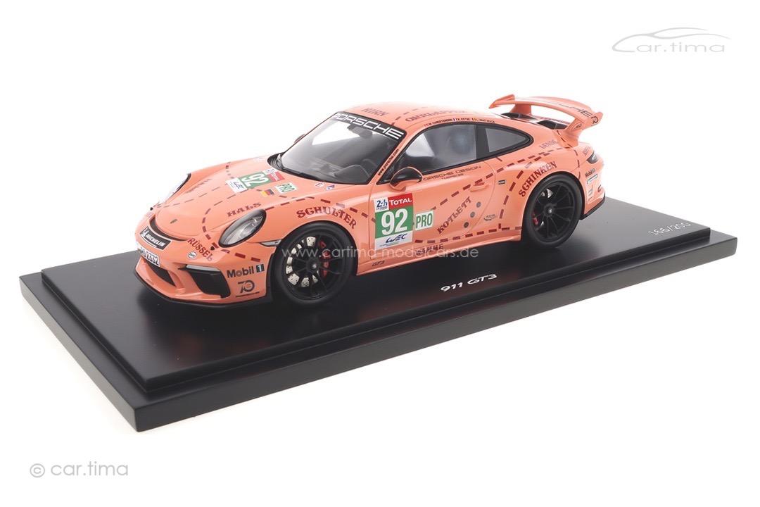 """Porsche 911 GT3 """"Pink Pig"""" Spark 1:18 WAXL2100005"""