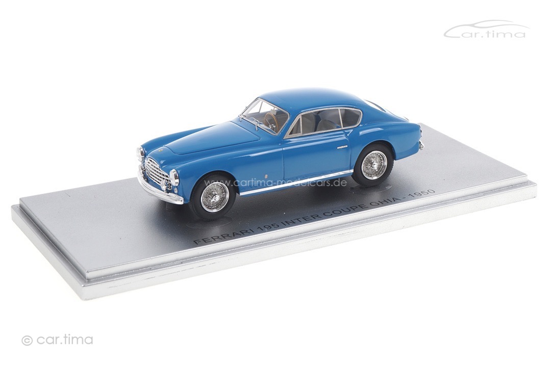 Ferrari 195 Inter Coupe Ghia 1950 blau Kess 1:43 KE43056022