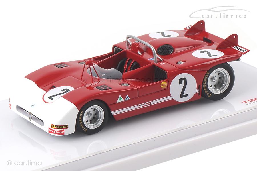 Alfa Romeo Tipo 33/3 Targa Florio 1971 Adamich/van Lennep TSM 1:43 TSM154310