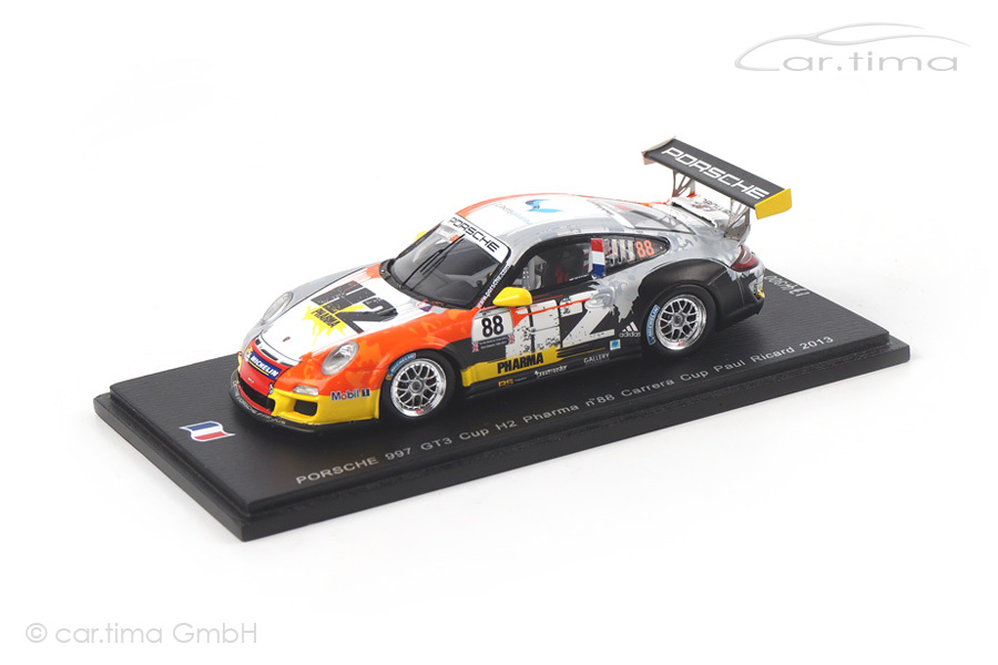 Porsche 911 (997 II) GT3 Cup Paul Ricard 2013 Henry Hassid Spark 1:43 SF073