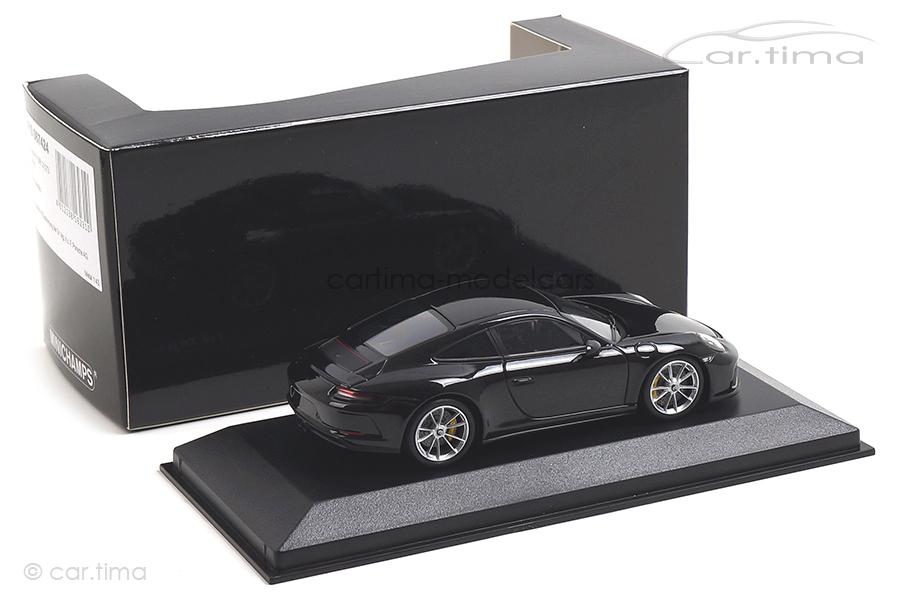 Porsche 911 (991 II) GT3 Touring Tiefschwarzmet. Minichamps 1:43 410067424