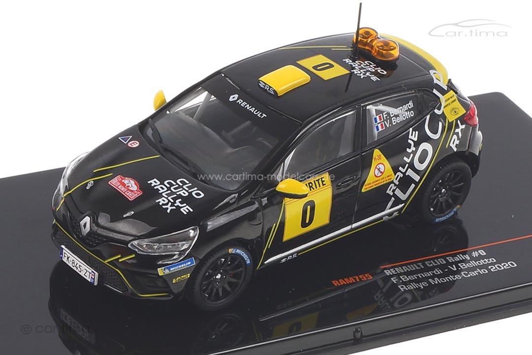 Renault Clio Rallye Monte Carlo 2020 Bernardi/Bellotto IXO 1:43 RAM755