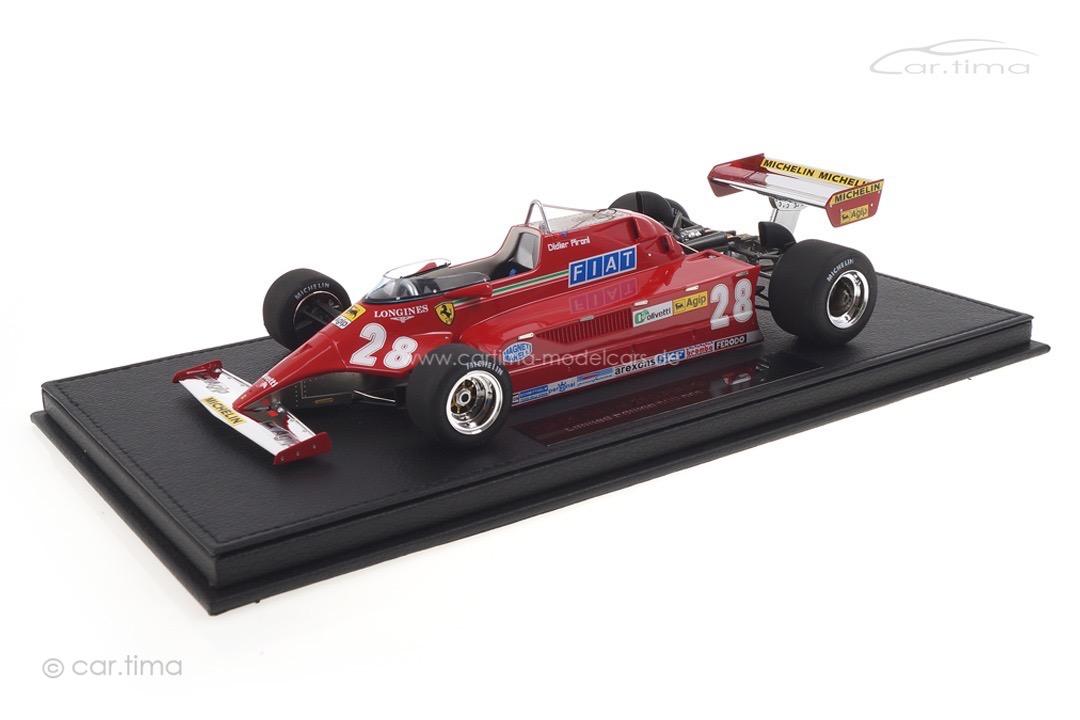 Ferrari 126 CK GP 1981 Didier Pironi GP Replicas 1:18 GP16B