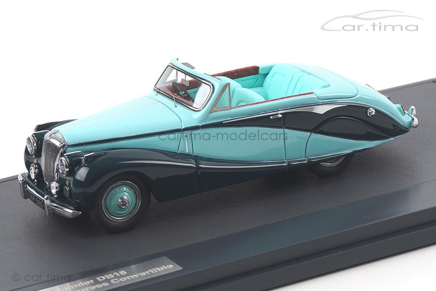 Daimler DB18 Hooper Empress Convertible 1951 Matrix Scale Models 1:43 MX40402-041