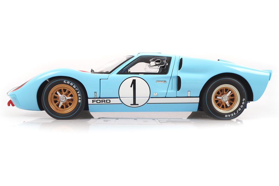 Ford GT40 MKI 2nd 24h Le Mans 1966 Miles/Hulme ACME 1:12 M1201003