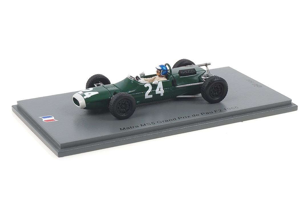 Matra MS5 Grand Prix de Pau F2 1966 Jacky Ickx Spark 1:43 SF182