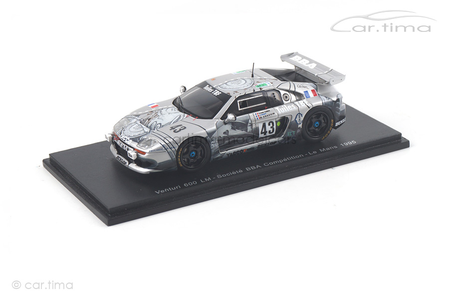 Venturi 600 LM 24h Le Mans 1995 Chauvin/Clerico/Lecuyer Spark 1:43 S2262