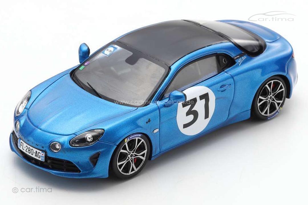 Alpine A110S Rallye Monte Carlo 2021 Esteban Ocon Spark 1:43 S6576
