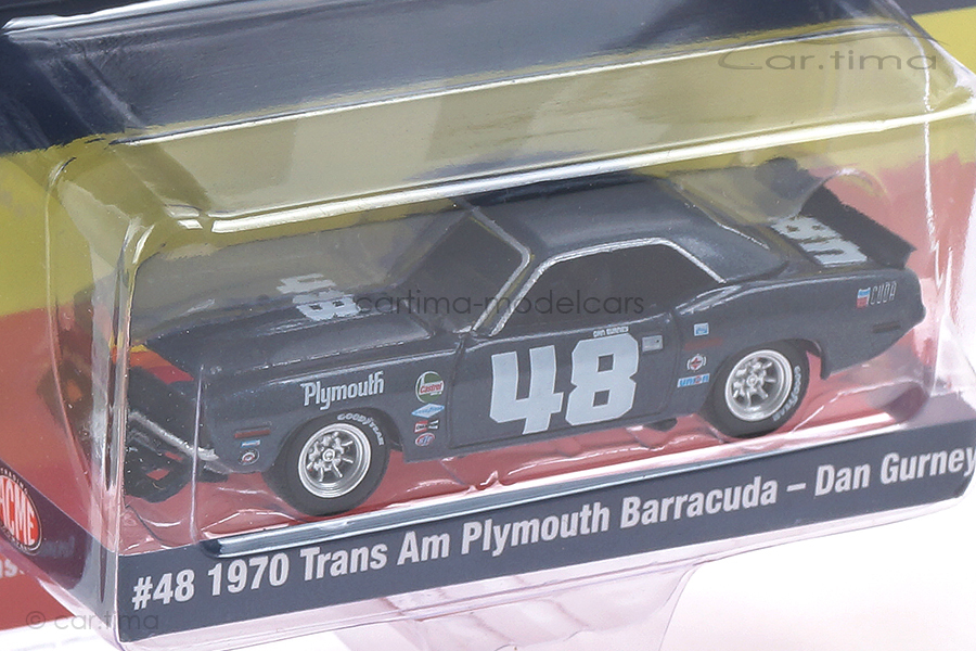 Plymouth Trans Am Barracuda 1970 Dan Gurney ACME 1:64 GL-51263