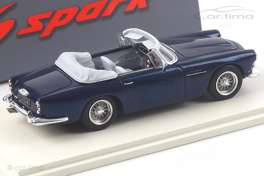 Aston Martin DB4 Convertible 1962 blau Spark 1:43 S2430