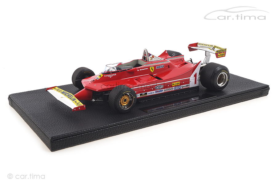 Ferrari 312 T5 GP 1980 Jody Scheckter GP Replicas 1:18 GP45A