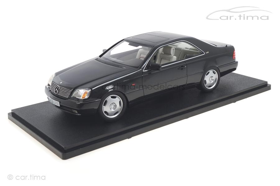 Mercedes-Benz 600 SEC C140 schwarz Cult Models 1:18 CML079-2