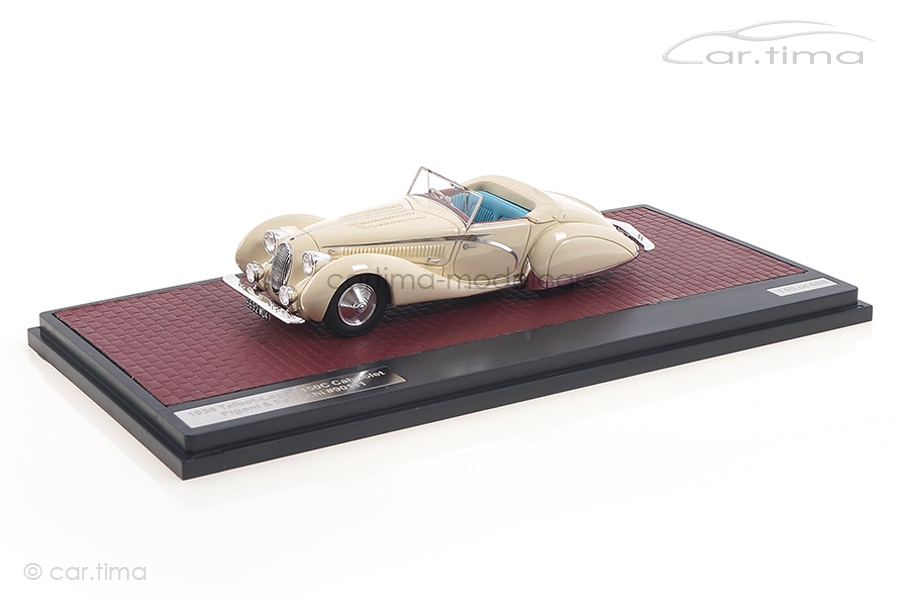 Talbot-Lago T150C Cabriolet Figoni & Falaschi 1936 weiß Matrix 1:43 MX41904-031