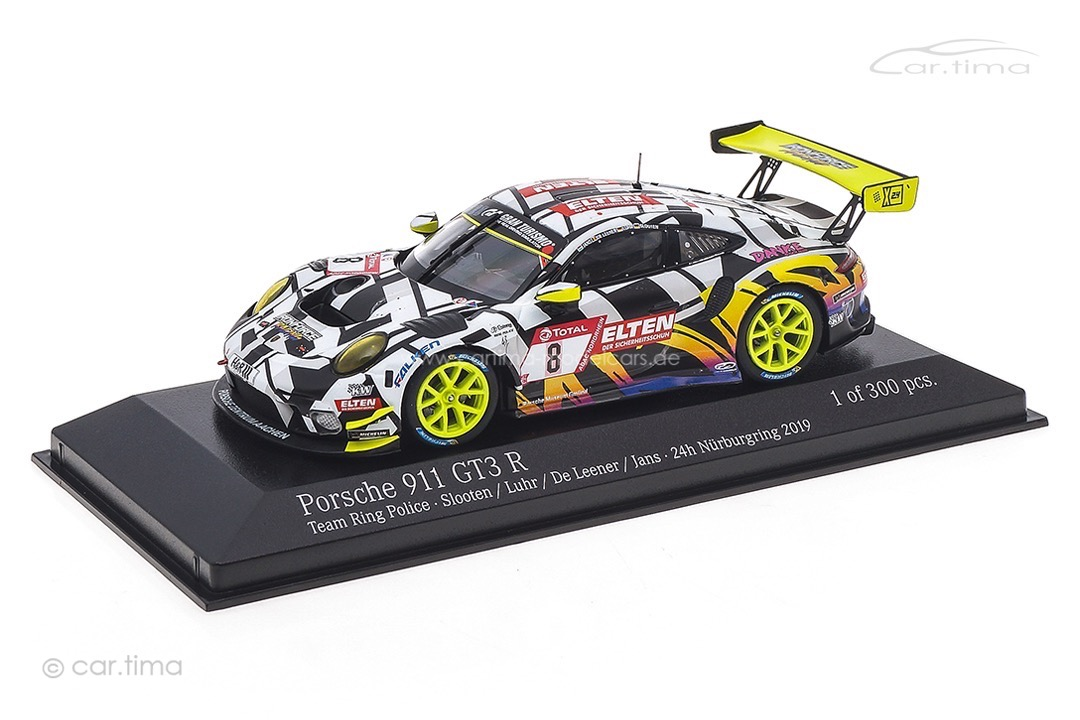 Porsche 911 GT3 R 24h Nürburgring 2019 Iron Force Minichamps 1:43 413196088