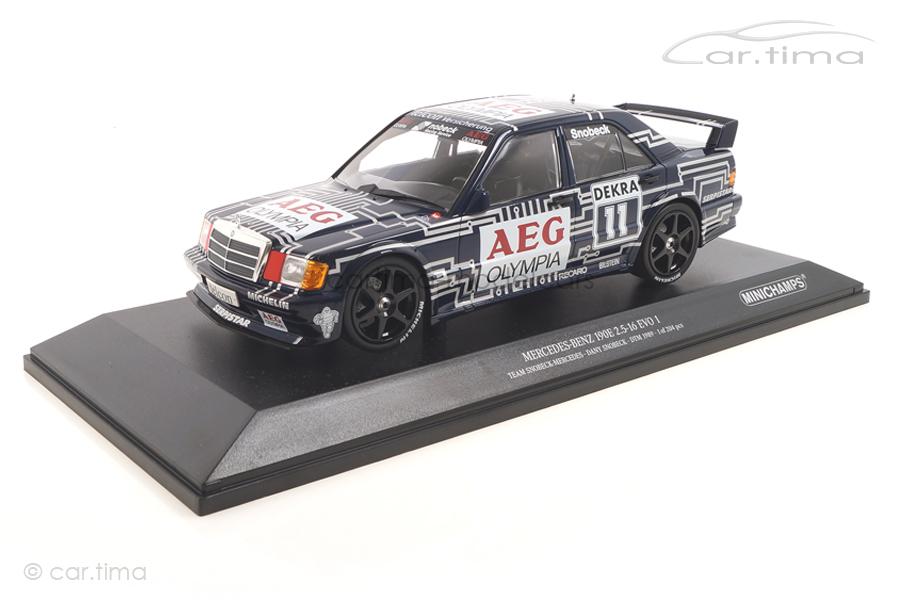 Mercedes-Benz 190E 2.5-16 EVO 1 DTM 1989 Dany Snobeck Minichamps 1:18 155893611